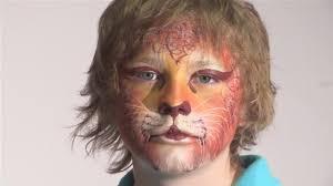 How To Do Cat Makeup For Halloween by Cat Makeup For Child Mugeek Vidalondon