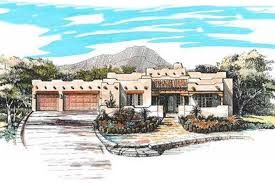 adobe style home plans adobe southwestern style house plan 3 beds 3 00 baths 2398 sq