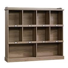 Sauder Library Bookcase by Amazon Com Sauder Barrister Lane Bookcase In Salt Oak Kitchen