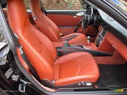 orange porsche 911 turbo cars update blogs black terracotta interior 2007 porsche 911