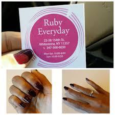 ruby nails salon 39 photos u0026 68 reviews day spas 22 28 154th