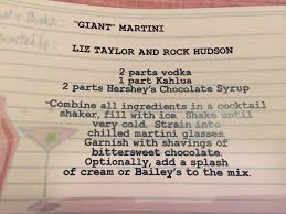 martini rock liz taylor and rock hudson u0027s
