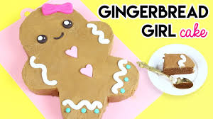 how to make a cake for a girl how to make a gingerbread girl cake