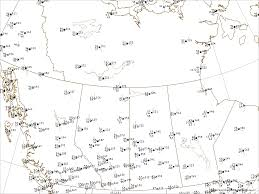 Canada Weather Map Forecast by Current Real Time Weather Maps Weather Analysis Charts Weather