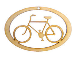 bicycle ornament etsy