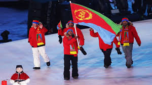 Eritrean Flag Video Shannon Abeda The First Eritrean In The Winter Olympics