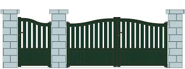 Front Gate Home Decor Wood And Steel Gate Designs Modern Furniture From Loversiq
