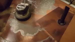 concrete floor maintenance floor buffing
