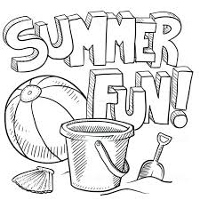 beach coloring pages preschool summer fun coloring pages medium size of fun coloring sheets farm