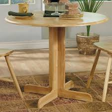 shop coaster fine furniture wood round extending dining table at