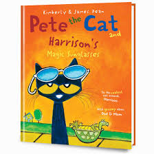 pete the cat and his magic sunglasses personalized hardcover book