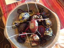 big easter eggs 12 steps to silk tie dye easter egg ornaments big dawg farms