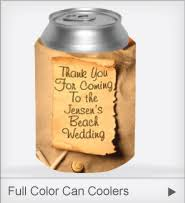 koozie wedding favor wedding koozies lowest prices free shipping discountmugs