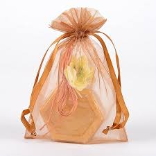 gold organza bags 8 x 14 organza bags