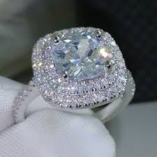 low priced engagement rings get cheap engagement ring cushion cut aliexpress