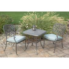 Agio Patio Set Agio Melbourne By Agio Outdoor Bistro Set With Two Stationary