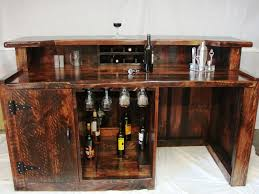 Mini Bar Table Kitchen The Current Home Mini Bars Modern Design Wooden Matter