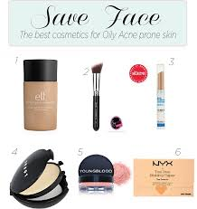 skincare best oily acne makeup