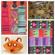 art projects african art projects roundup craftwhack