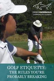 více než 17 nejlepších nápadů na pinterestu na téma golf etiquette