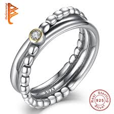 wedding ring set for belawang silver rings for women engagement wedding ring cubic