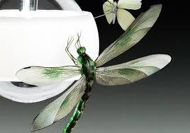 Dragonfly Light Fixture Artistic Collaboration Ingo Maurer And Graham Owen Butterflies
