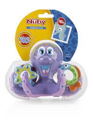Make Bathtime Fun For Your Dog Amazon Com Nuby Octopus Hoopla Bathtime Fun Toys Purple
