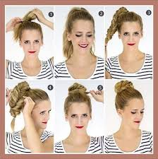 hair tutorials for medium hair 40 quick and easy updos for medium hair