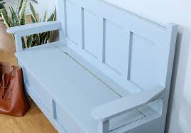Diy Storage Bench Ideas by Diy Storage Bench The House Of Wood