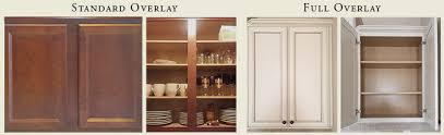 full overlay face frame cabinets full overlay cabinets vs standard overlay what is the difference