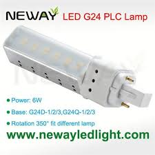 6w g24 lamp base plc led light bulb replace 13w cfl 6w g24 lamp