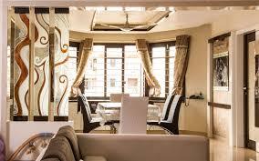 Living Room And Kitchen Partition Ideas Partition Glass Shree Rangkala Glass Design Surat Gujarat