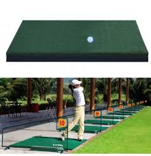 Golf Net For Backyard by Golf Practice Mat Hitting Grass Driving Holder Outdoor Indoor