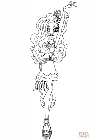 monster high coloring pages frights camera action frights camera action lagoona coloring page free printable