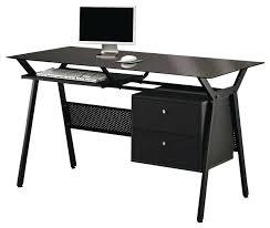 Computer Desks Modern Modern Glass Computer Desk Medium Image For Desk Furniture
