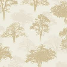 holden woodland forest pattern tree glitter motif wallpaper 11470