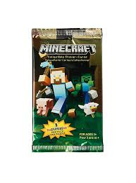 minecraft cards minecraft collectible sticker cards hot topic