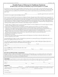 Power Of Attorney Form Free Pdf by Health Care Power Of Attorney Form 46 Free Templates In Pdf