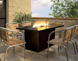 Circular Patio Seating Table Beautiful Patio Table With Fire Pit Modern Outdoor Wicker