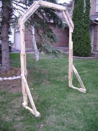 Pallet Wedding Decor Arch From Pallet Wood