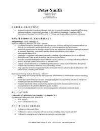 Professional Business Resume Template Business Management Resume Sles Resume Format 2017 Sle