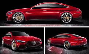 mercedes amg concept mercedes amg gt concept four doors 805 hp and production intent