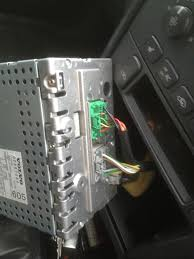 volvo v40 2001 head unit upgrade replacement guide