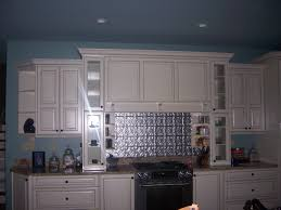 Kitchen Range Backsplash Kitchen Range With Metal Backsplash Home Improvement