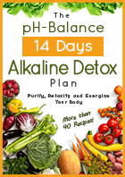 acid alkaline food chart balance ph diet com