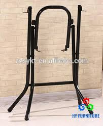 Metal Folding Table Legs Customized Color Metal Folding Table Powder Coating Steel