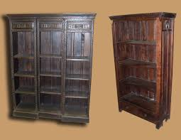 Rustic Wood Bookshelves by Solid Wood Bookcases In San Diego San Diego Rustic Furniture