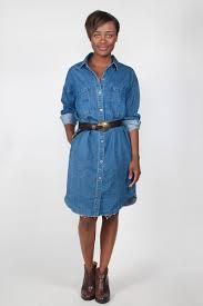 rails grayson button down dress in antique indigo