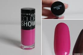 maybelline color show nail polishes swatches cassandramyee