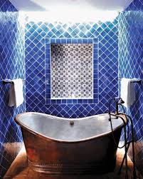 mexican tile bathroom designs mexican tile bathroom featuring silver finish varnished wooden